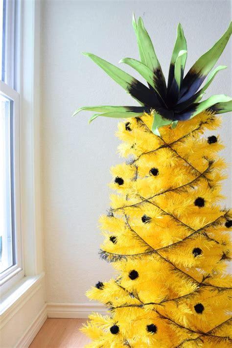 jens pineapple christmas tree hawaiian christmas