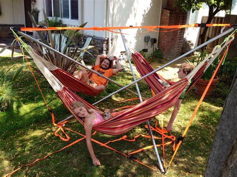 3 Person Hammock by 3 Person Hammock Stand We Made 6 2013 Crafts