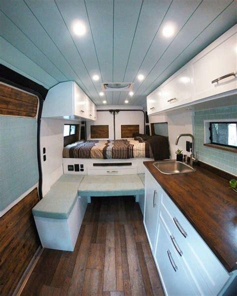 pretty slick diy promaster build camper van