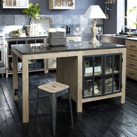 cuisine maison du monde meubles de cuisine indépendant et ilot maison du monde