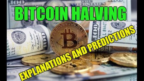 Bitcoin (btc) halving history with charts & dates. Bitcoin Halving Explained and Predictions - YouTube