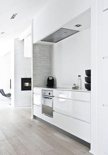 cuisine blanche ouverte sur salon cuisine design blanche ouverte sur salon