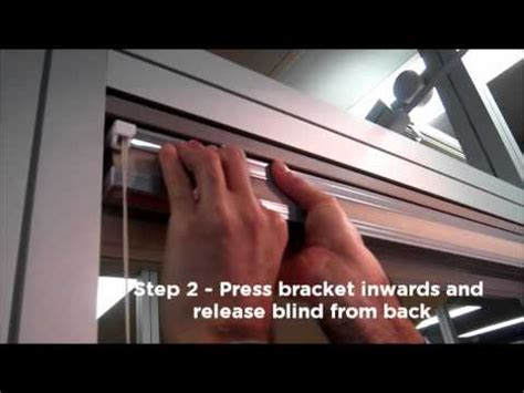 how to remove blinds from window pleated cellular blind removal