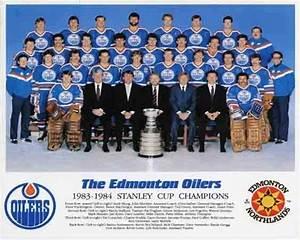 1983 84 Edmonton Oilers Stanley Cup Champions Team 8x10