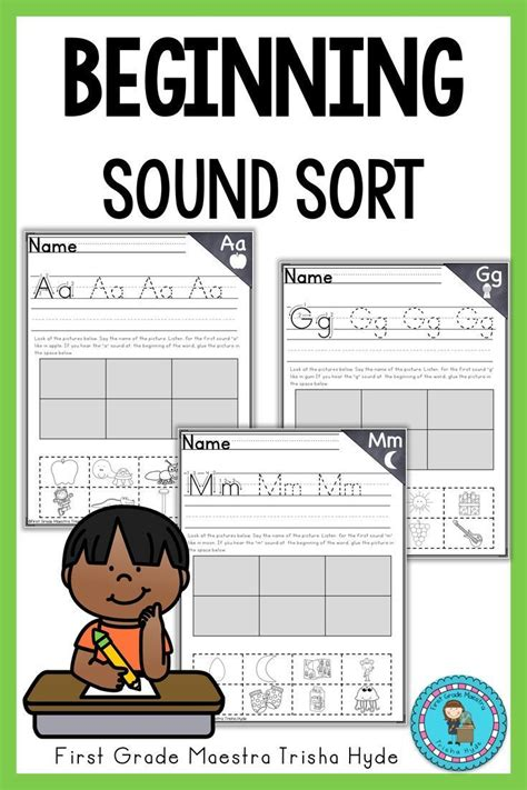 alphabet  sound sort  images beginning