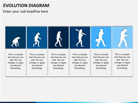 evolution powerpoint template sketchbubble