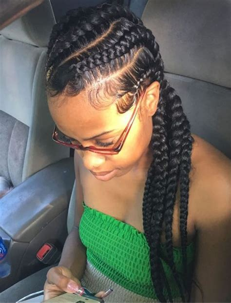 african american braided hairstyles  women