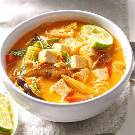 Pumpkin Butternut Squash Soup Curry by Veggie Thai Curry Soup Recipe Taste Of Home