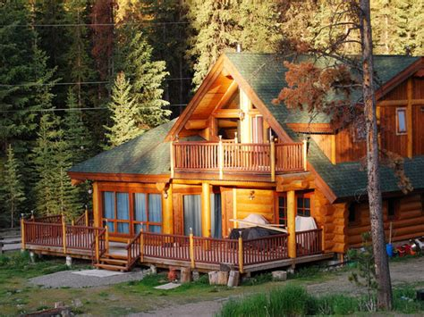 cabin porches  decks home design ideas