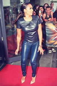 Mel B At X Factor Auditions In London Leather Celebrities