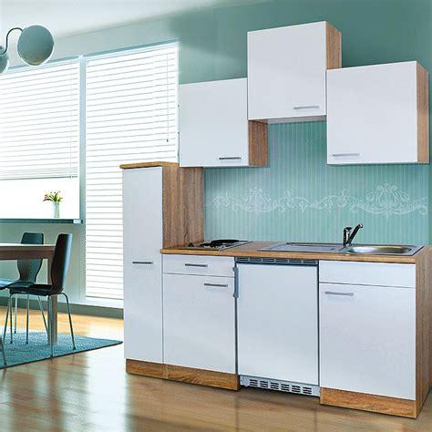 Bauhaus Singlekuche by Respekta Singlek 252 Che Kb180eswc Breite 180 Cm Mit