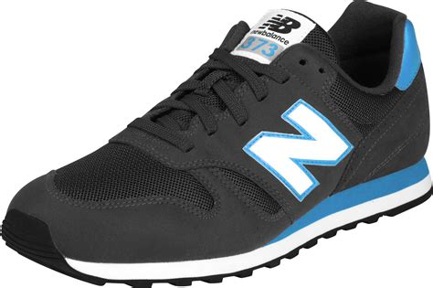 New Balance M373 Shoes Black Blue