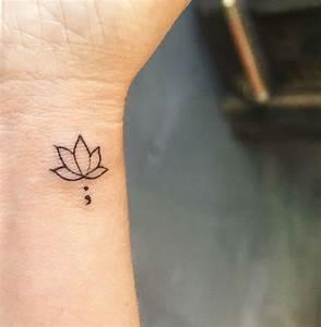 Fleur Lotus Tatouage : 1001 id es tatouage symbole bouddhiste empreint de ~ Mglfilm.com Idées de Décoration