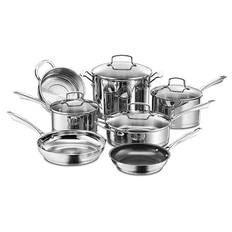 cuisinart  pc professional stainless steel cookware set