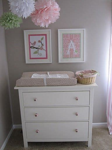 Hemnes 3 Drawer Dresser As Changing Table by B A B Y On 84 Pins