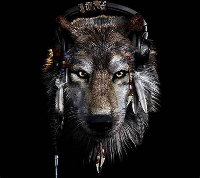 Native American Indian Wolf Spirit