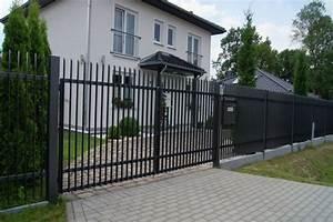 Gartenzaun Günstig Polen : ak metal z une aus polen david zaun moderne metallzaune ~ Frokenaadalensverden.com Haus und Dekorationen