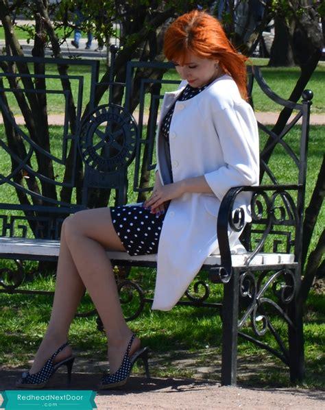 Russian Beauty Redhead Next Door Photo Gallery