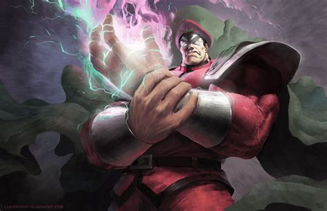 Comics Forever Street Fighter Mbison Artwork By Luc
