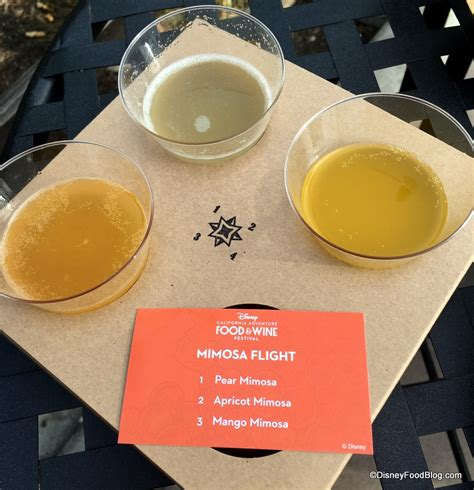 mimosa cuisine 2017 disney california adventure food and wine festival