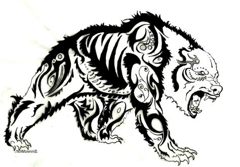 Pictures of Bear Skull Tattoos Design - #catfactsblog
