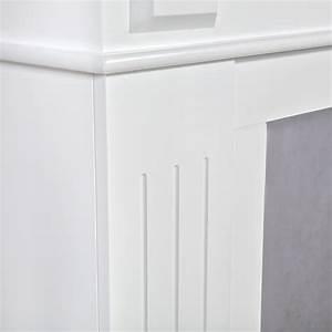 Kamin Attrappe Holz : 109cm kaminumrandung im landhausstil kaminzubeh r holz ~ Michelbontemps.com Haus und Dekorationen