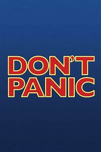 Don't Panic Wallpapers Group (68+)