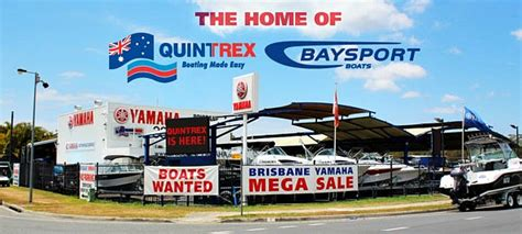 Boat Sales Yards Brisbane by About Us Brisbane Yamaha