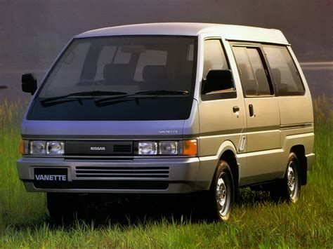 nissan vanette nissan vanette 2 0 1989 auto images and specification