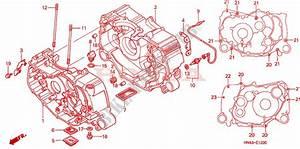 2001 Trx 350 Engine Diagram : crankcase for honda fourtrax rancher 350 4x4 electric ~ A.2002-acura-tl-radio.info Haus und Dekorationen