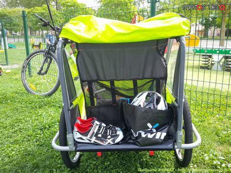 siège bébé remorque vélo comment rouler avec une remorque vélo enfants matos