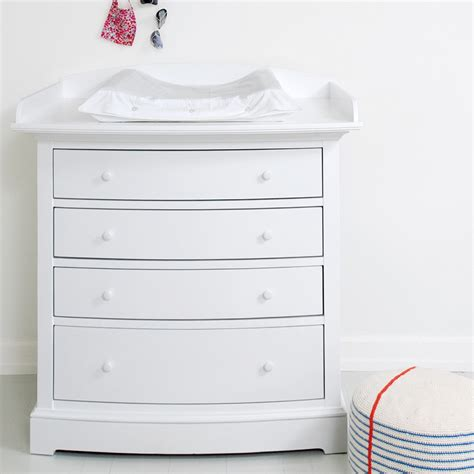 baby changer dresser unit luxury baby change unit in white with removable top