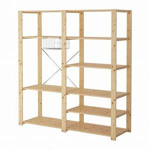 Ikea Holzregal Keller : hejne spare bedroom closets solid pine and furniture ~ Lizthompson.info Haus und Dekorationen