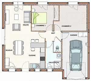 simple cliquer pour voir le plan with plan maison avec cote With plan maison avec cote