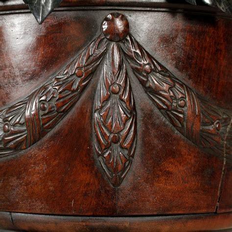 vaso legno trespolo fioriera con vaso tavolini antiquariato