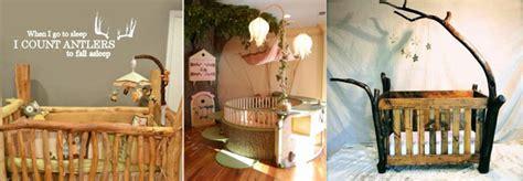 chambre bébé en bois la déco forêt pour chambre bébé une affaire d