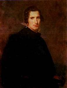 Portrait of a Young Man - Diego Velazquez Painting