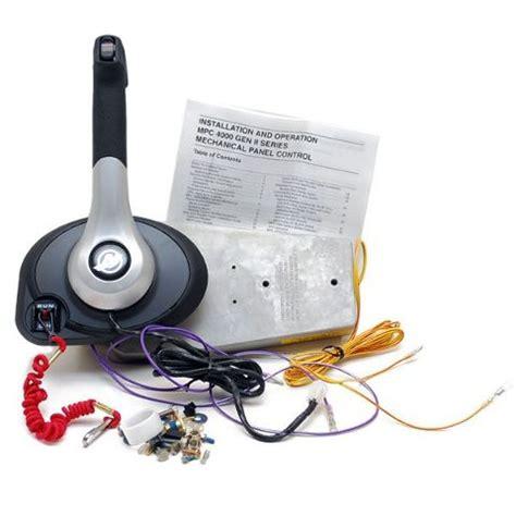 mercury remote box panel side mount w o power trim switch 883710a03 lc ebay