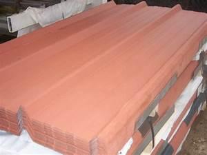 Tole Bac Acier Isolante : tole bac acier brun cuivre pour toiture ou bardage offre auvergne la monatte 43500 craponne arzon ~ Melissatoandfro.com Idées de Décoration