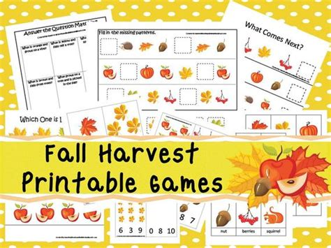 30 fall harvest curriculum by booksandbubbles 534 | il 570xN.882438713 p0zn