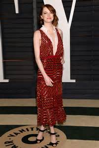 Emma Stone Vanity Fair Oscar Party Hollywood