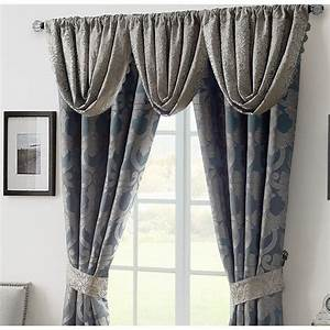 Chateau, Lake, Scalloped, Valance, By, Waterford