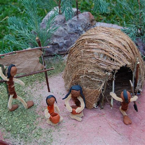 wigwam  indians native american projects woodland
