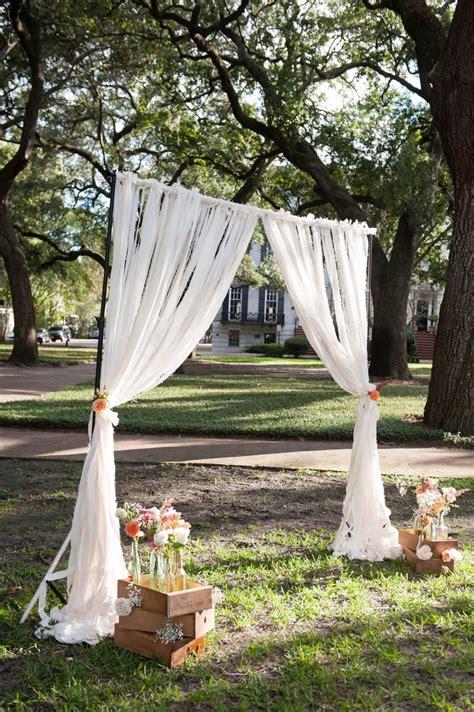 Ceremony Backdrop Wedding Pinterest