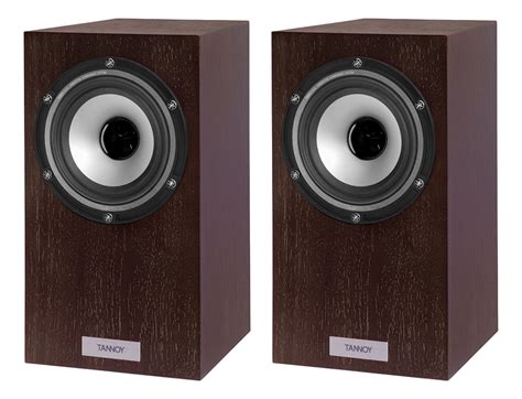 Tannoy Revolution Xt Mini Dark Walnut Bookshelf Speakers