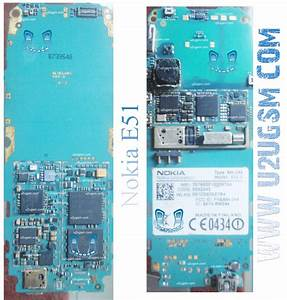 Nokia E51 Full Pcb Diagram Mother Board Layout