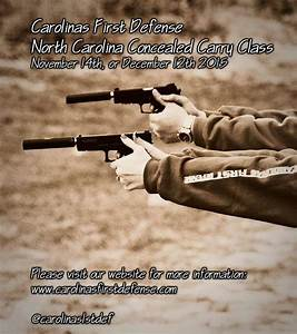 Local North Carolina Concealed Carry Classes