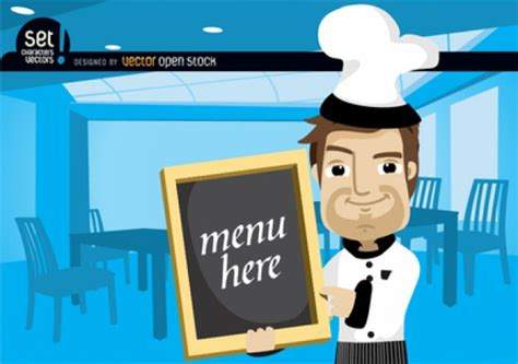 Chef Character With Recipe Card Vector Makeup Artist Business Card Free Download Reader App Holder Review Computer Ai Maker For Windows 8 Scanner Zoho Scene American Psycho Quote Organiser Android