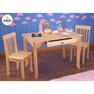 kidkraft aspen wood table 2 chair set white