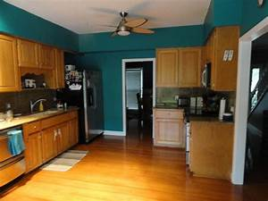 Teal walls with off white cabinets kitchens pinterest for Kitchen colors with white cabinets with photo to wall art